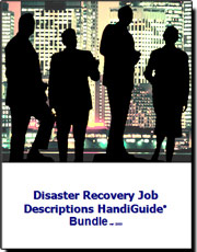 Disaster Recovery Business Continuity Job Descriptions